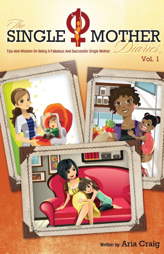 Image of the book cover by Aria Craig, The Single Mother Diaries
